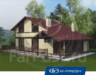 M-fresh Eco time-зеркальный (Отличный проект дома для дружной семьи! ). 100-200 кв. м., 1 этаж, 5 комнат, дерево
