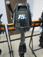 Suzuki. 15,00л.с., 2х тактный, бензин, нога S (381 мм), Год: 2016 год