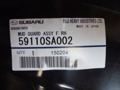 Подкрылок. Subaru Forester, SG5 Двигатели: EJ203, EJ202, EJ205