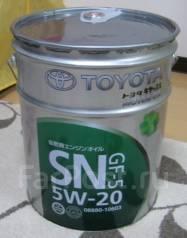 Toyota. Вязкость 5w20, синтетическое