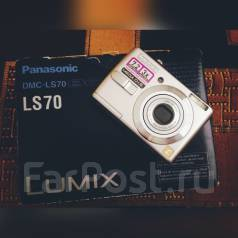 Panasonic Lumix DMC-LS70. 7 - 7.9 Мп, зум: 3х
