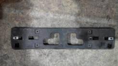 Номерная рамка , накладка бампера Шевроле Спарк. Chevrolet Spark