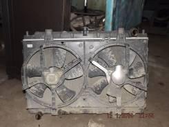Радиатор охлаждения двигателя. Nissan Avenir, PNW11 Nissan Avenir Salut Двигатели: SR20DET, SR20DE