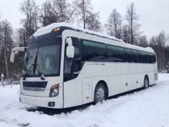 Hyundai Universe. Междугородний-туристический автобус , 9 960 куб. см., 47 мест