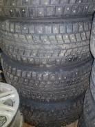 Dunlop. Зимние, шипованные, 2014 год, без износа, 4 шт