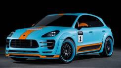 Обвес кузова аэродинамический. Porsche Macan