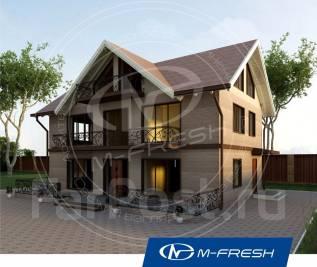 M-fresh Argentum (Проект красивого дома для жизни на природе! ). 200-300 кв. м., 2 этажа, 5 комнат, комбинированный