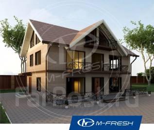 M-fresh Argentum-зеркальный (Балконы, планы этажей, рабочие чертежи). 200-300 кв. м., 2 этажа, 5 комнат, комбинированный