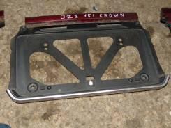 Рамка для крепления номера. Toyota Crown, JZS151 Двигатель 1JZGE