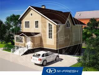 M-fresh Energy style (Проект дома для энергичной жизни на природе! ). 200-300 кв. м., 2 этажа, 7 комнат, каркас