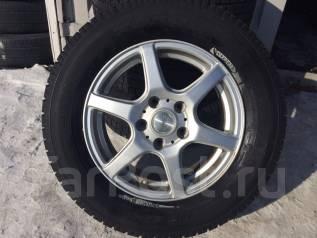 Отличные зимние колеса на литых дисках 205/65/R15. 6.5x15 5x114.30 ET42