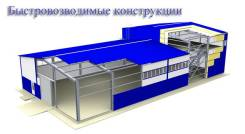 Монтаж быстровозводимых конструкций в Туле