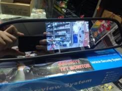 Накладка на зеркало с монитором для камеры заднего хода