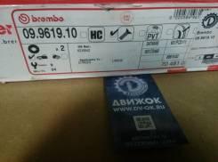 Диск тормозной передний Brembo 09876010,09961910,4246W2,424918,424984,60201927SX,98200111601