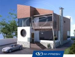 M-fresh Modern (Проект дома для оригинальных личностей! ). 200-300 кв. м., 2 этажа, 6 комнат, бетон