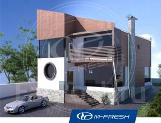 M-fresh Modern (Проект дома для оригинальных личностей! ). 200-300 кв. м., 2 этажа, 6 комнат, комбинированный