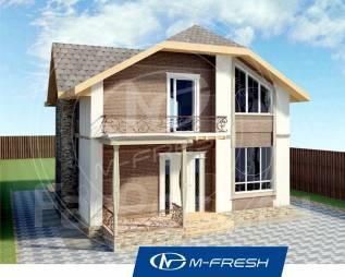 M-fresh Jamaica-зеркальный. 100-200 кв. м., 2 этажа, 5 комнат, бетон