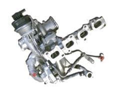 Турбонагнетатель. Турбина в сборе. Volkswagen Crafter Двигатель CKUB. Под заказ