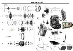 АКПП. Nissan X-Trail, HNT32, NHT32, NT32, T32 Двигатели: MR20, MR20DD, MR20DE