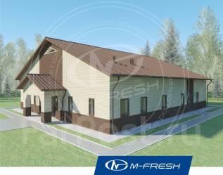 M-fresh Your health (Проект одноэтажного дома из кирпича! ). 200-300 кв. м., 1 этаж, 4 комнаты, кирпич