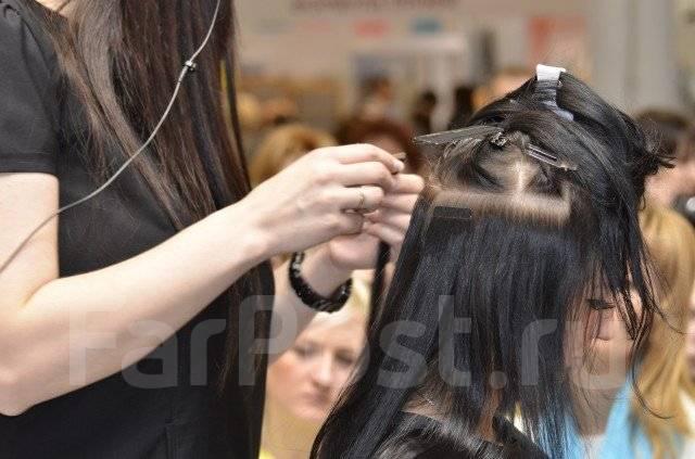 Курсы наращивание волос ленточное