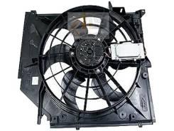 Вентилятор охлаждения радиатора. BMW 3-Series, E46/3, E46/2, E46/4 Двигатели: M54B22, M54B25, M54B30, M52T, N46B20, M43T