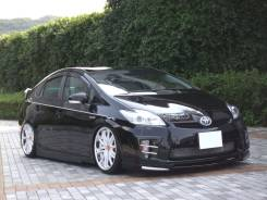 Накладка на решетку бампера. Toyota Prius, ZVW35, ZVW30L, ZVW30 Двигатель 2ZRFXE. Под заказ