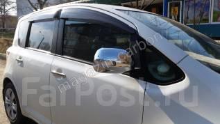 Накладка на зеркало. Toyota Ractis, NCP100, NCP105, SCP100 Двигатели: 1NZFE, 2SZFE