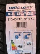 Uniglory Ice Blade. Зимние, без шипов, 2015 год, без износа, 4 шт. Под заказ из Тюмени