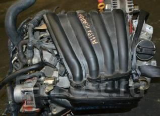 Двигатель в сборе. Nissan: Wingroad, Bluebird Sylphy, Cube, Tiida Latio, Tiida, March, Cube Cubic, AD, Note, Juke Двигатель HR15DE