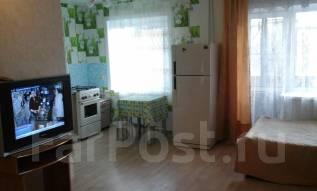 1-комнатная, улица Нагишкина 11. Центральный, 35 кв.м.