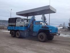 Урал. УРАЛ-58491 бортовой с КМУ-2т., 11 150 куб. см., 2 000 кг.