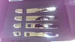 Продам хромированые накладки на ручки дверей. Toyota: Voxy, Noah, Allex, Land Cruiser Prado, Corolla Runx