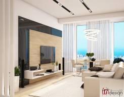"""Комфортная атмосфера от студии """"Ин Дизайн"""". Тип объекта квартира, комната, срок выполнения 3 месяца"""