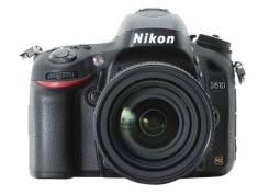 Nikon D610 Body. 20 и более Мп, зум: без зума