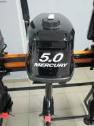 Mercury. 5,00л.с., 2х тактный, бензин, нога S (381 мм), Год: 2016 год