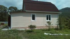 Дом в с Кравцовка, участок 20 соток. Садовая, 6, р-н с Кравцовка, площадь дома 130 кв.м., скважина, электричество 5 кВт, отопление электрическое, от...