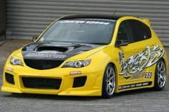 Обвес кузова аэродинамический. Subaru Impreza, GH3, GH, GH2, GH8, GH7, GH6. Под заказ
