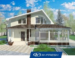 M-fresh Audi style-зеркальный (Веранда в доме, детская комната). 200-300 кв. м., 2 этажа, 4 комнаты, бетон