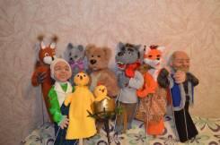 Тростниковые куклы для кукольного театра на заказ