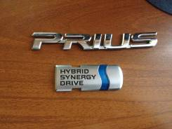 Эмблема. Toyota Prius
