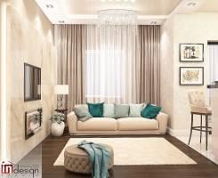 """Элегантность современной классики. ЖК """"Снеговая падь"""". Тип объекта квартира, комната, срок выполнения месяц"""