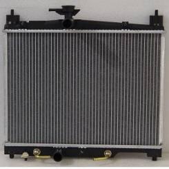 Радиатор охлаждения двигателя. Toyota Vitz, NCP131, SCP10, SCP13, NCP10, NCP13, NCP15 Toyota Yaris, NCP13, SCP10, NCP11, NCP12, SCP12, NCP10, NCP131 T...