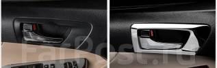 Накладка на порог. Toyota Camry