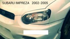 Накладка на фару. Subaru Impreza, GDB