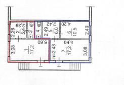 Помещения свободного назначения. 25 кв.м., проспект Красного Знамени 113, р-н Толстого (Буссе). План помещения