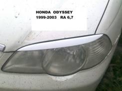 Накладка на фару. Honda Odyssey, RA6