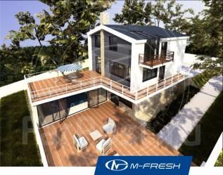 M-fresh Luxury gold-зеркальный (Покупайте сейчас проект со скидкой 20%. 300-400 кв. м., 2 этажа, 5 комнат, бетон