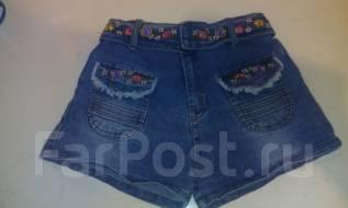 Шорты джинсовые. Рост: 116-122 см