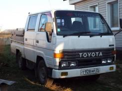 Toyota Dyna. Продаю грузовик -двух кабиник. ; задний приводной; тойота-1991 года, 2 500куб. см., 2 000кг., 4x2